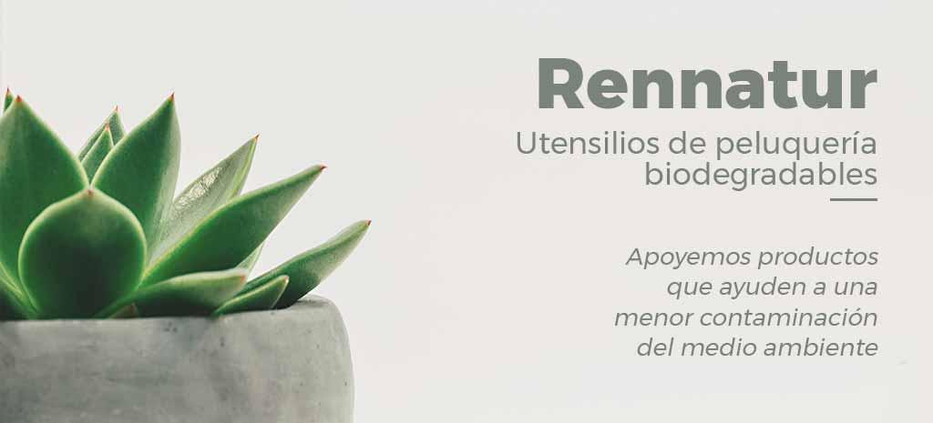 Utensilios de Peluquería Biodegradables, ¡Cuidemos el medio ambiente con Ren Natur!
