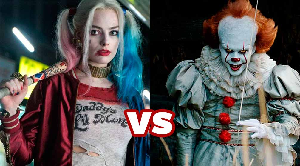 Maquillaje para HALLOWEEN: Harley Quinn VS Pennywise