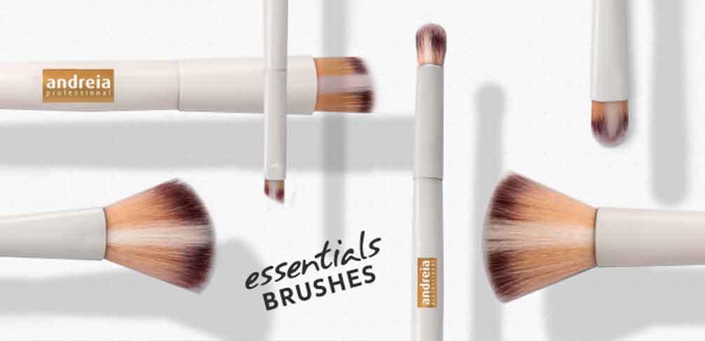 Andreia Brochas y Pinceles de Maquillaje