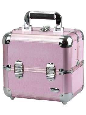 1b9b7198c Blush Professional Maletin para Maquillaje y Cosmeticos de Aluminio Rosa