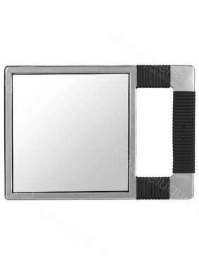 Eurostil espejo rectangular plateado peluquer a for Espejo rectangular plateado