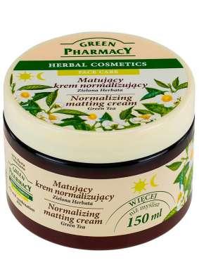 Resultado de imagen de green pharmacy crema facial te verde