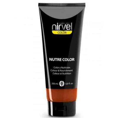 Objetado sabio esférico  Nirvel NUTRE COLOR | Mascarilla de Color y Nutrición NARANJA 200 ml.